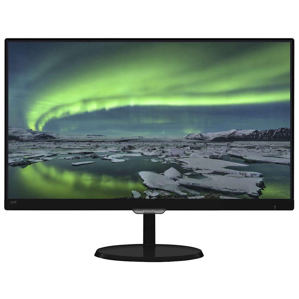 Monitor LED Philips E-Line 237E7QDSB 23 5ms 16:9 Full HD HDMI DVI-D VGA Negru