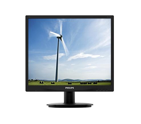 Monitor LED Philips S-Line 19S4QAB 19 14ms 5:4 D-Sub DVI Negru