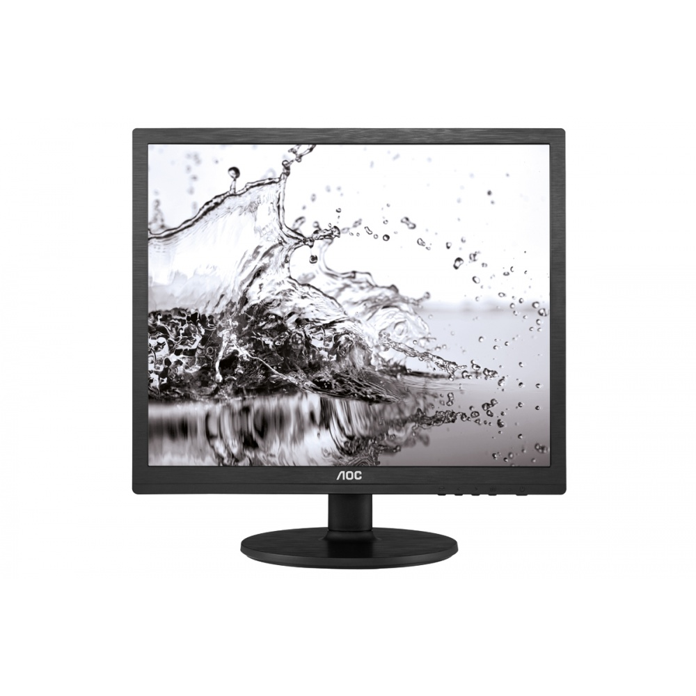 Monitor LED AOC I960SRDA 19 5ms 5:4 Full HD D-Sub DVI Negru