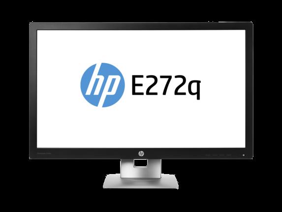 Monitor LED HP EliteDisplay E272q 27 7ms 16:9 QHD VGA HDMI DisplayPort Negru