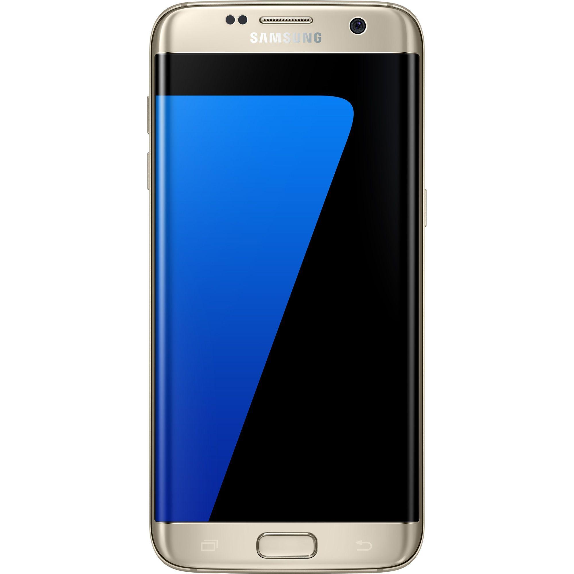 Telefon Mobil Samsung Galaxy S7 Edge G935 32GB Dual SIM 4G Gold