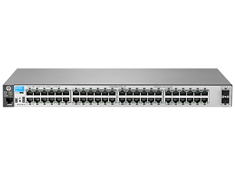 Switch HP Aruba 2530 48G 2SFP+ cu management fara PoE 48x1000Mbps-RJ45 + 2xSFP+