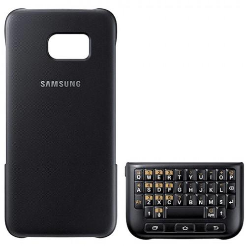 Husa Samsung Galaxy S7 (G930) de protectie spate cu tastatura QWERTY Tinted Dark