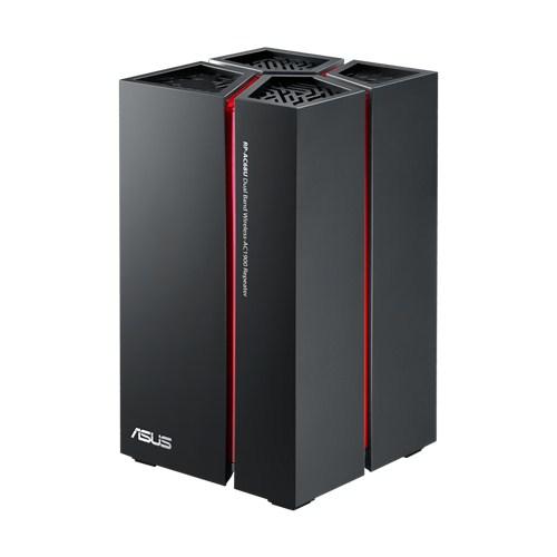 Acces Point ASUS RP-AC68U WiFi: 802.11ac frecventa: 2 4/5GHz - Dual radio fara aliemntare PoE