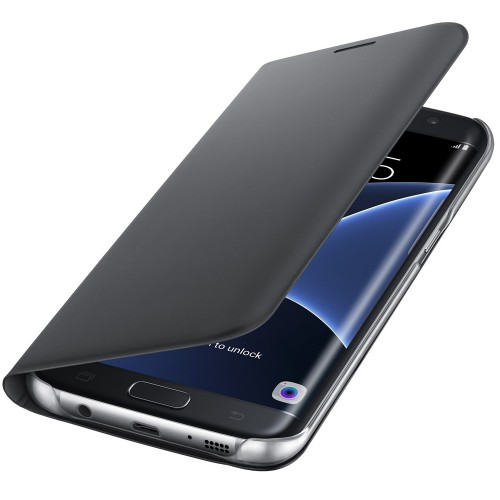 Husa tip Flip Wallet Galaxy S7 Edge (G935) - Negru