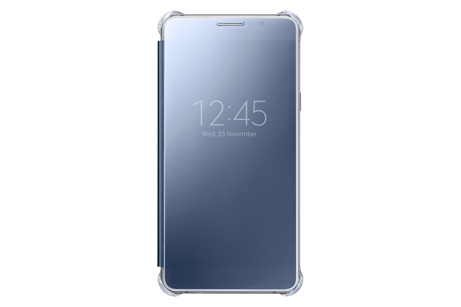 Husa Samsung Galaxy A5 (2016) Clear View Cover Black
