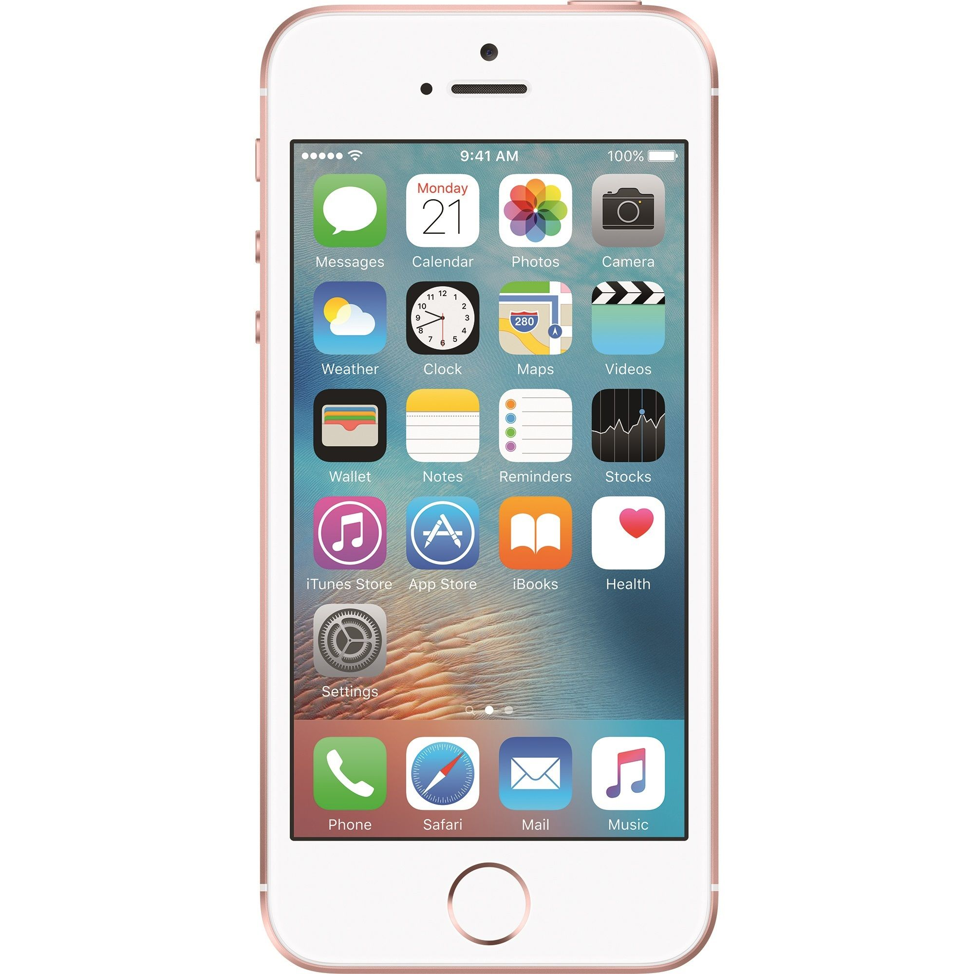 Telefon Mobil Apple iPhone SE 16GB Rose Gold