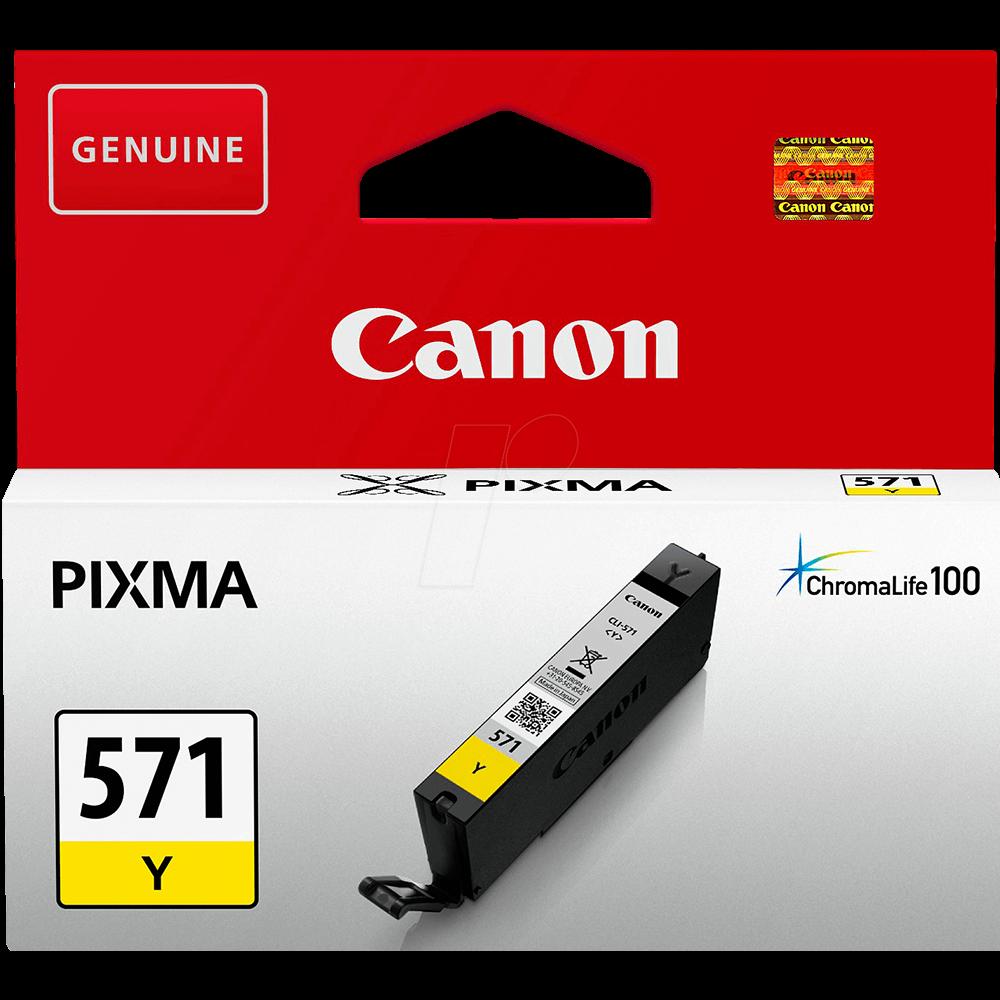 Cartus Inkjet Canon CLI-571Y Yellow