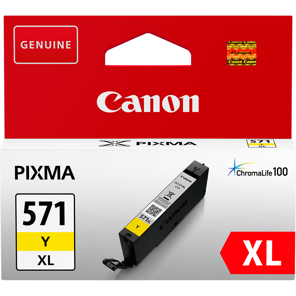 Cartus Inkjet Canon CLI-571XLY Yellow XL