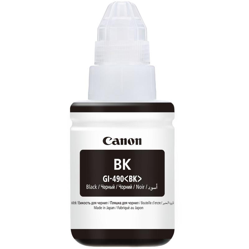 Cartus Inkjet Canon GI-490 Black CISS