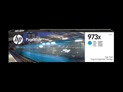 Cartus Inkjet HP 973X PageWide Cyan 7K