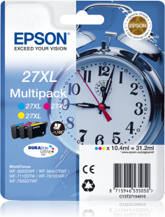 Cartus Ink Epson T27154010 Multipack Color CMY