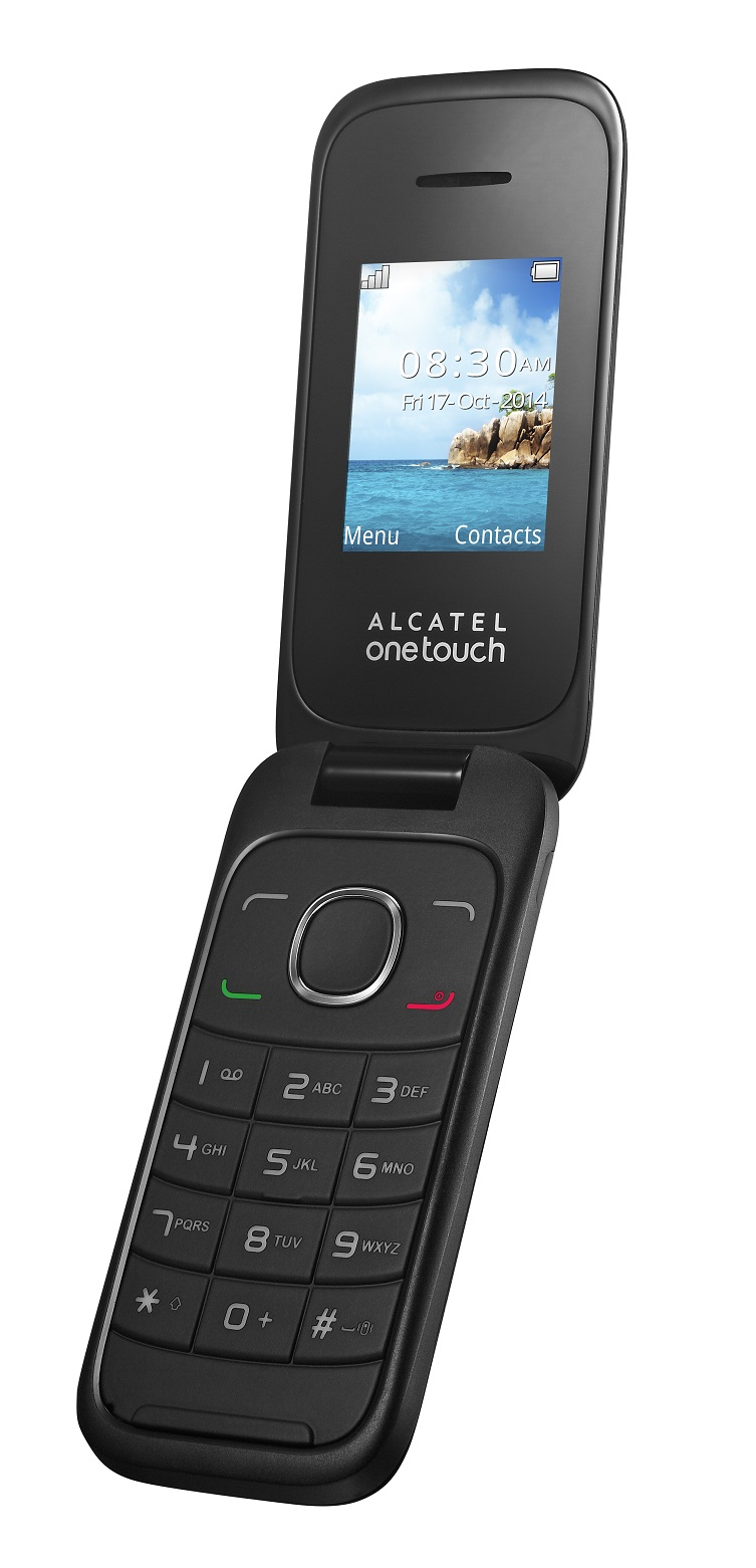 Telefon Mobil Alcatel 1035D Dual SIM White