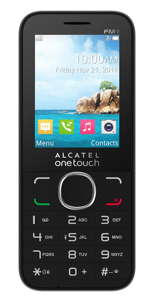 Telefon Mobil Alcatel 2045X TIGER XL Single SIM 3G Black