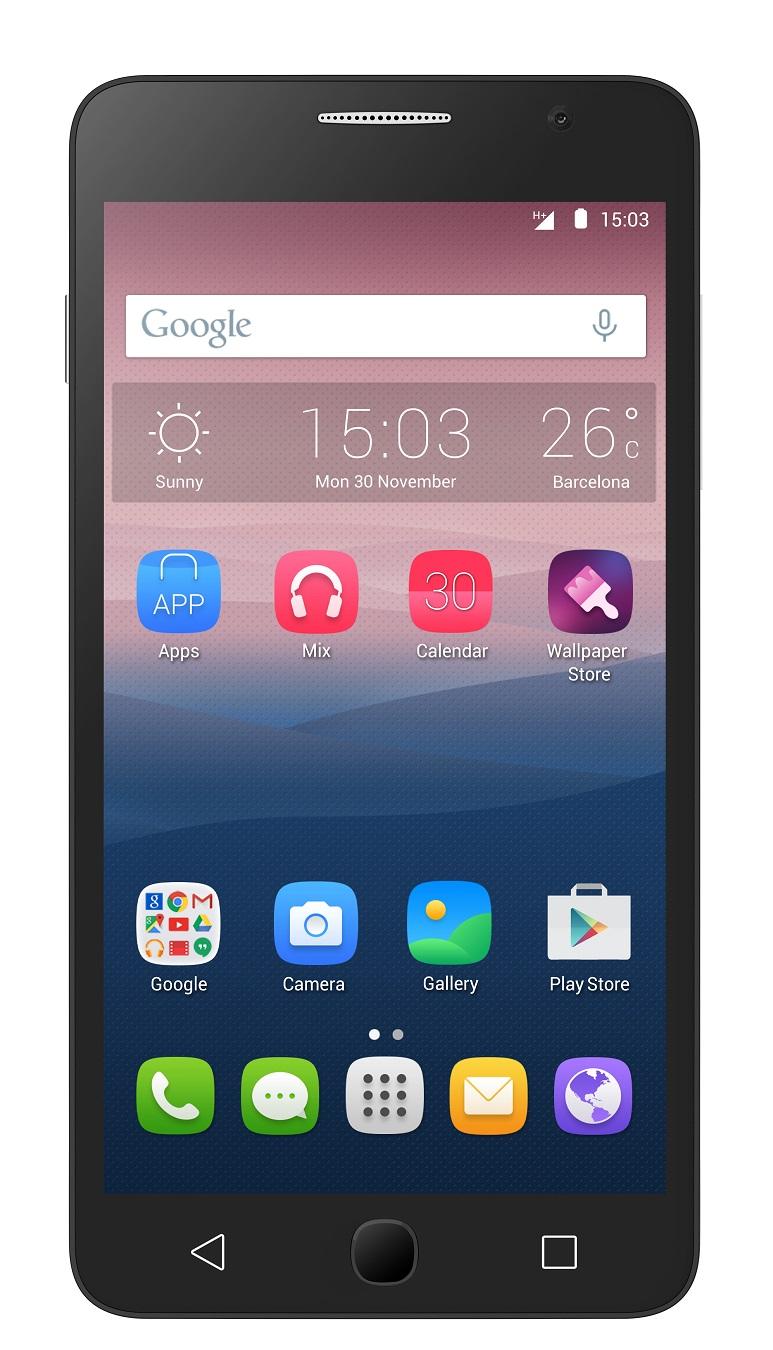 Telefon Mobil Alcatel 5070D Pop Star Dual SIM 4G Black
