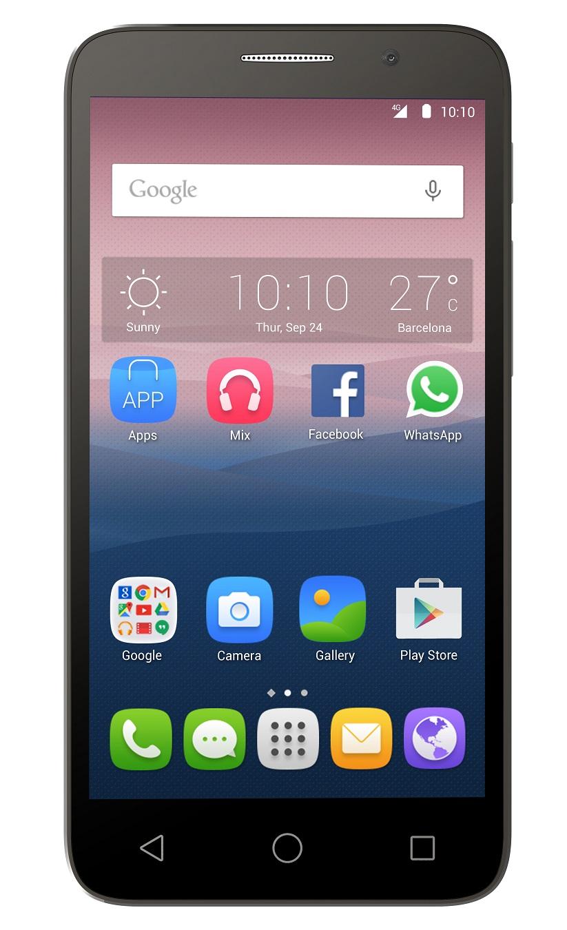 Telefon Mobil Alcatel 5065D Pop 3 Dual SIM 4G Silver