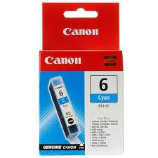 Cartus Inkjet Canon BCI6C INK BJC-8200 i560 i950 S800/S820D/S830D/S900 Cyan