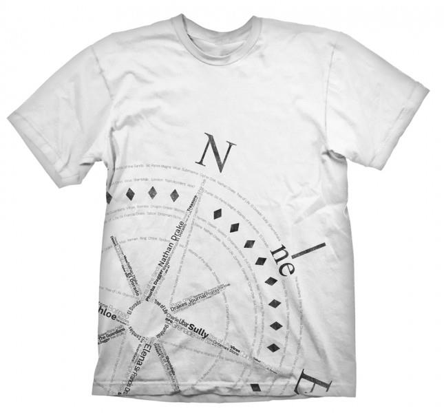 Tricou Uncharted 4 Compass XXL