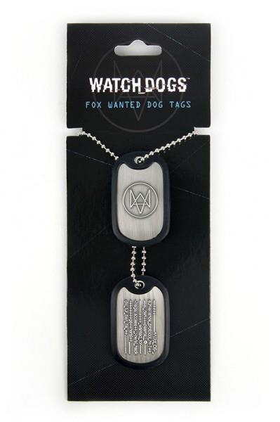 Breloc Watch Dogs Tag Fox Wanted