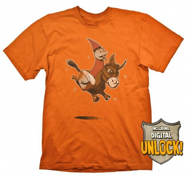 Tricou marimea S Dota 2 Wizard & Donkey + Cod Bonus