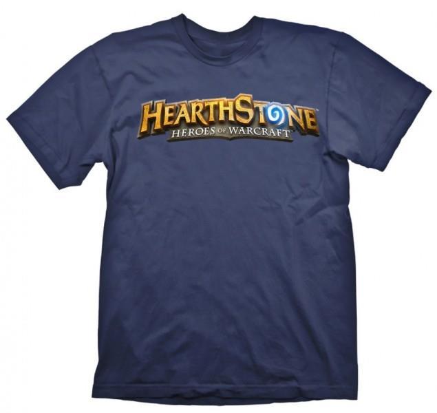 Tricou Hearthstone Logo Navy S