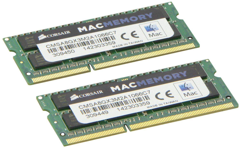 Memorie Notebook Corsair DDR3-1066 8GB (2x4GB) pentru Mac