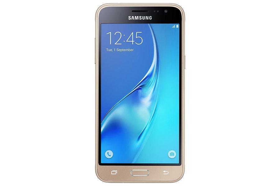 Telefon Mobil Samsung Galaxy J3 8GB Dual SIM 4G Gold