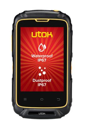 Telefon Mobil UTOK Dorel 3S Dual SIM Black