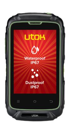 Telefon Mobil UTOK Explorer 3S Dual SIM Black