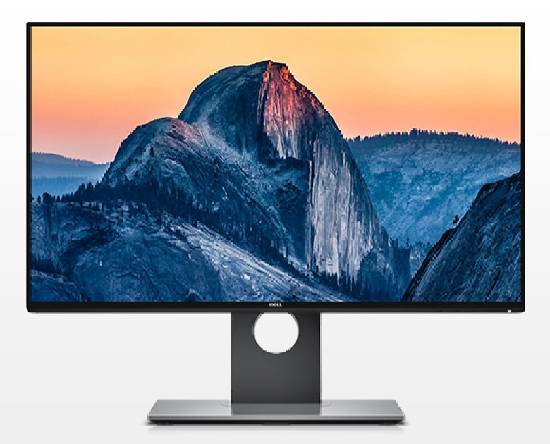 Monitor LED Dell U2417H 24 16:9 8ms HDMI DisplayPort Negru