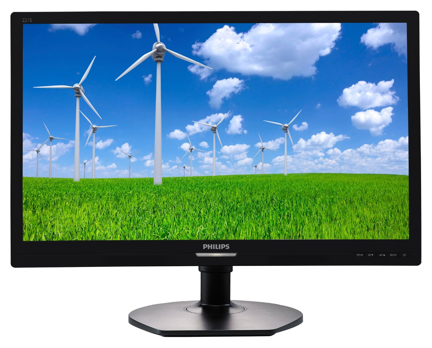 Monitor LED Philips 221S6QYMB 21.5 Full HD 16:9 DisplayPort VGA DVI-D Negru