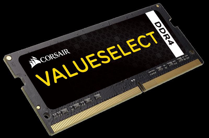 Memorie Notebook Corsair ValueSelect DDR4-2133 4GB (1x4GB) CL15