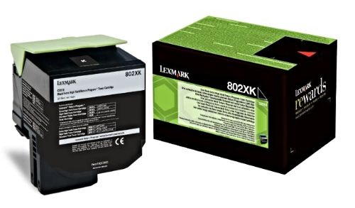 Cartus toner Lexmark 80C2XKE Black pentru CX510de/ CX510dhe/ CX510dthe 8000 pagini