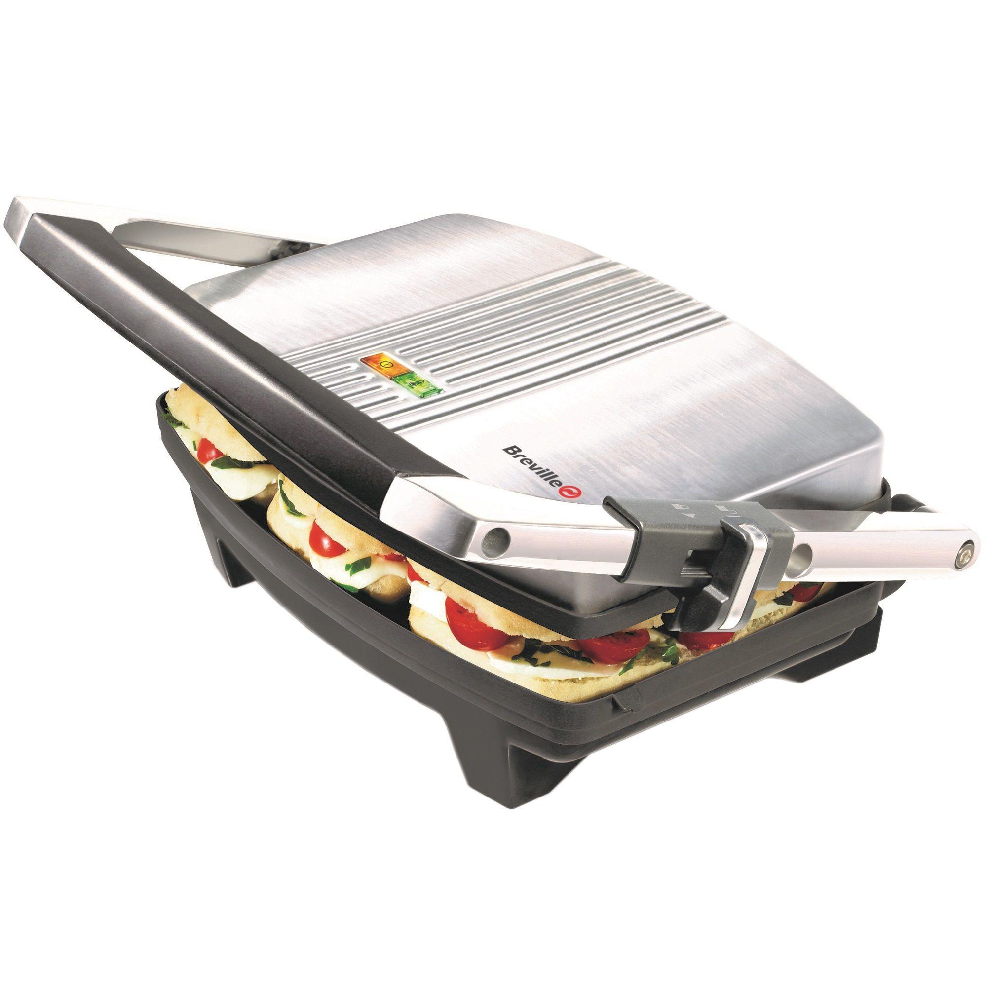 Sandwich Maker Breville Panini VST025X-01 1000W Argintiu