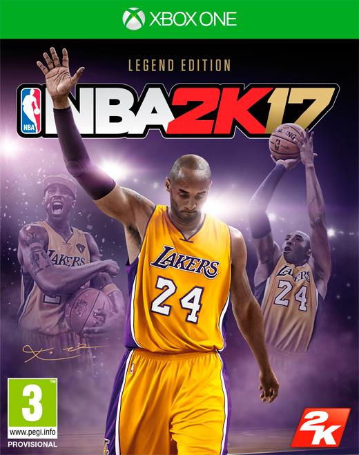 NBA 2K17: Legend Edition Xbox One