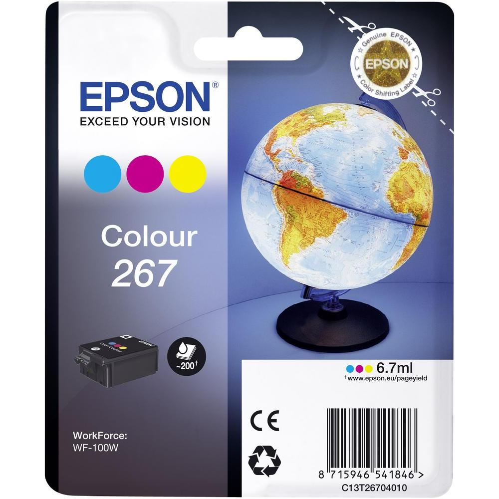 Cartus inkjet Epson T2671 Tricolor