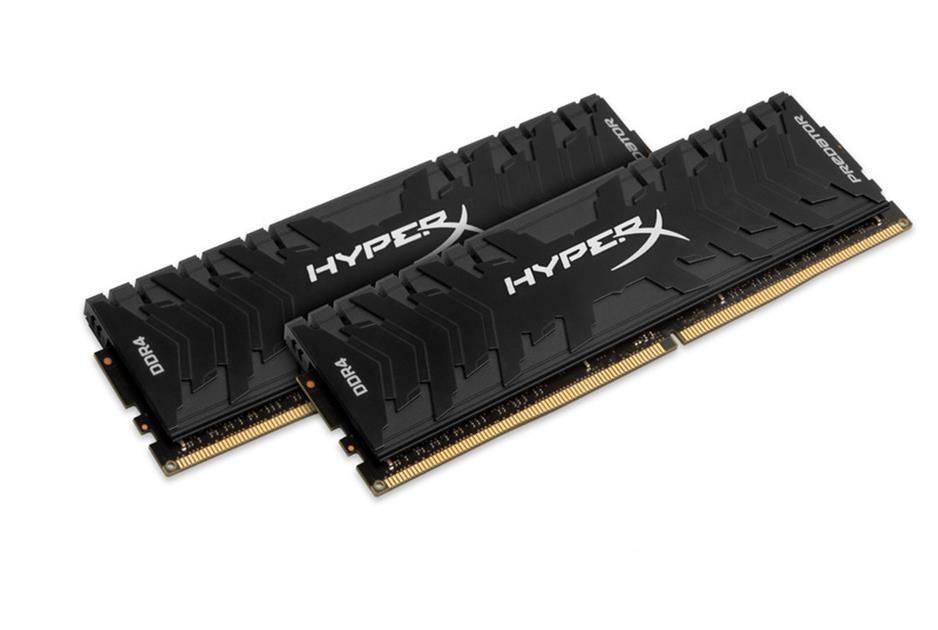 Memorie Desktop Kingston HyperX Predator Black 16GB (2x8GB) DDR4 3200MHz