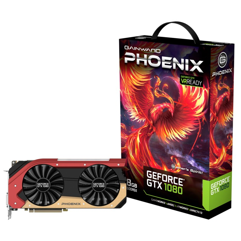 Placa Video Gainward GeForce GTX 1080 Phoenix 8GB GDDR5X 256 biti
