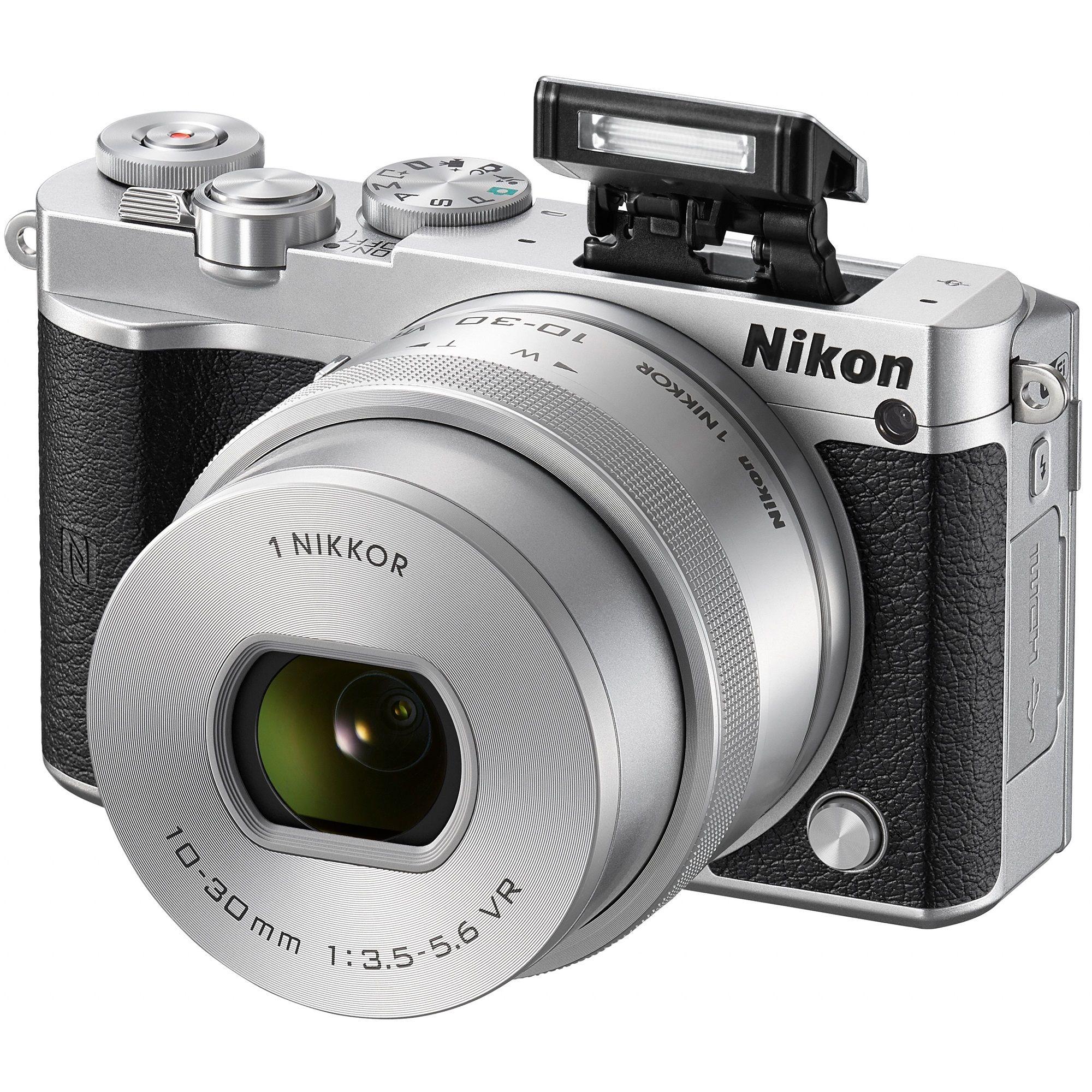 Aparat foto Mirrrorless Nikon 1 J5 Silver