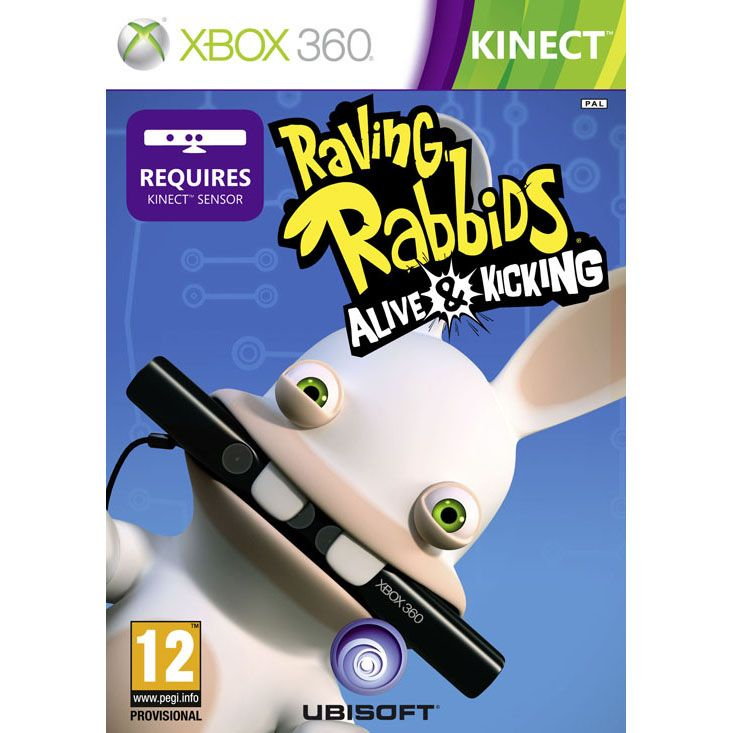 Rabbids Alive and Kicking Kinect Compatible XB360