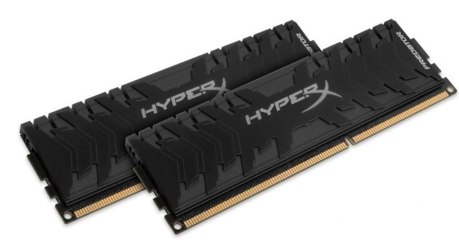 Memorie Desktop Kingston HyperX Predator 16GB (2 x 8GB) DDR4 3000MHz Black