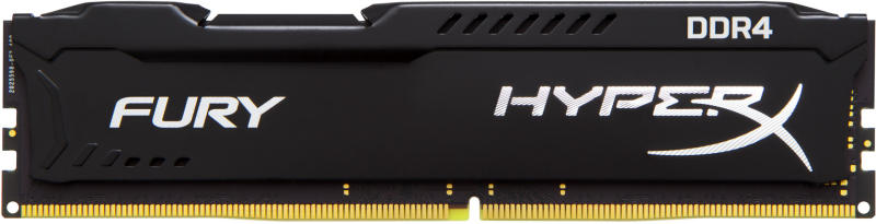 Memorie Desktop Kingston HyperX FURY 1 x 16GB DDR4 2400MHz Black