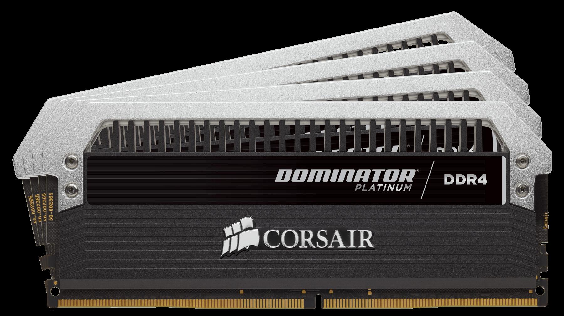 Memorie Desktop Corsair Dominator Platinium 32GB (4 x 8GB) DDR4 2666MHz CL15