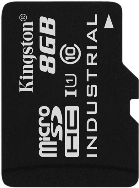 Card de memorie Kingston Micro SDHC 8GB UHS-I Industrial Temp Card Class 10 Adapter