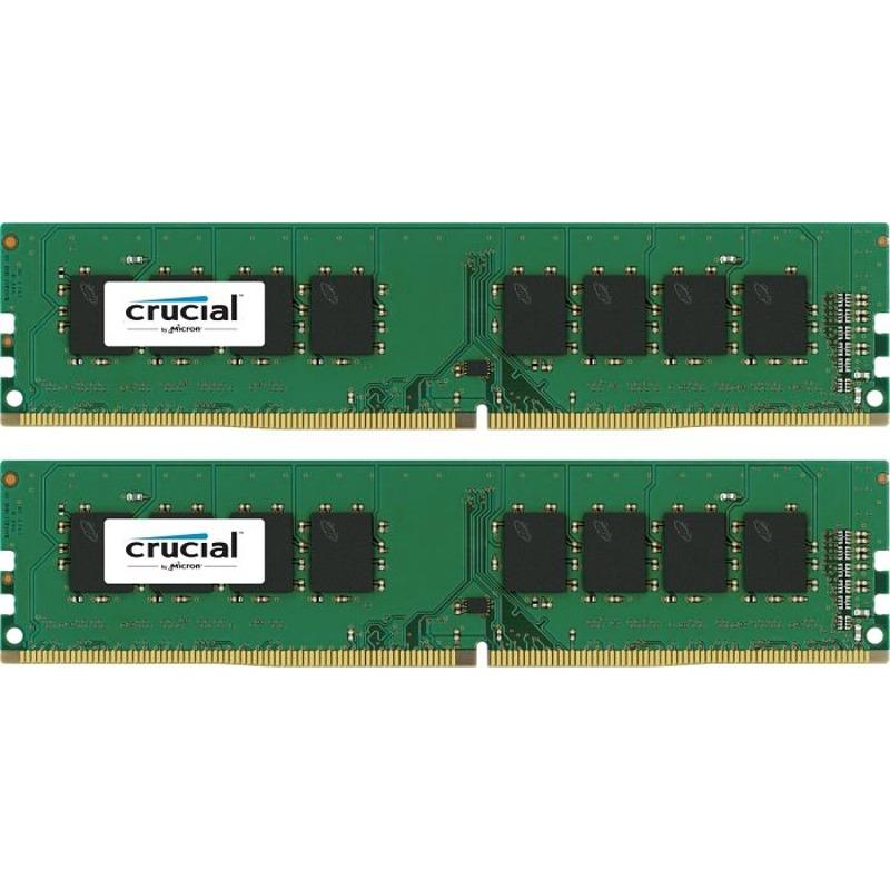Memorie Desktop Micron Crucial 16 GB (2 x 8GB) DDR4 2400MHz