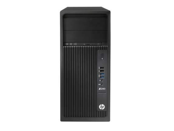 Sistem Brand HP Z240 MT Intel Xeon E3-1225v5 K620-2GB RAM 8GB HDD 1TB Windows 7 Pro / 10 Pro