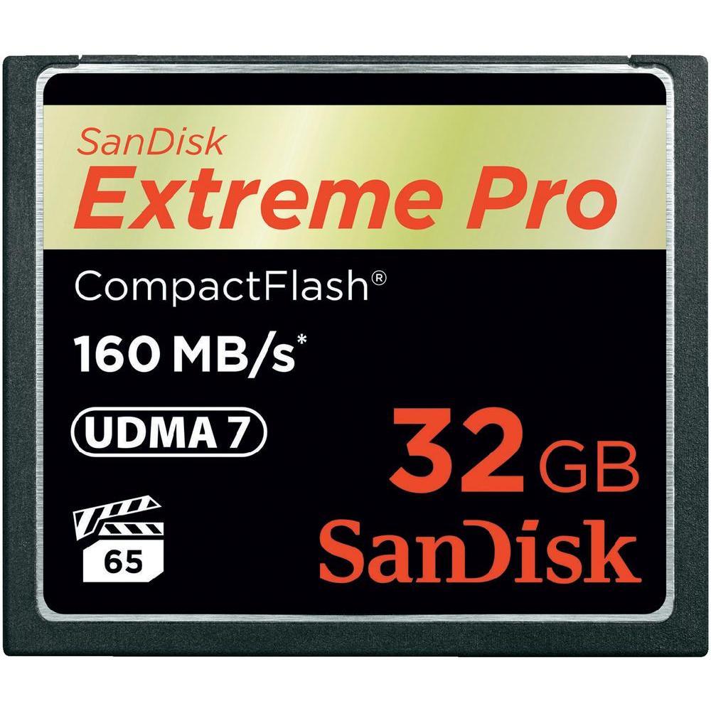 Card de memorie SanDisk Compact Flash Extreme 32GB Class 10