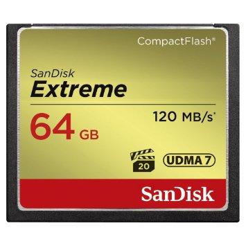 Card de memorie SanDisk Compact Flash Extreme 64GB UDMA7
