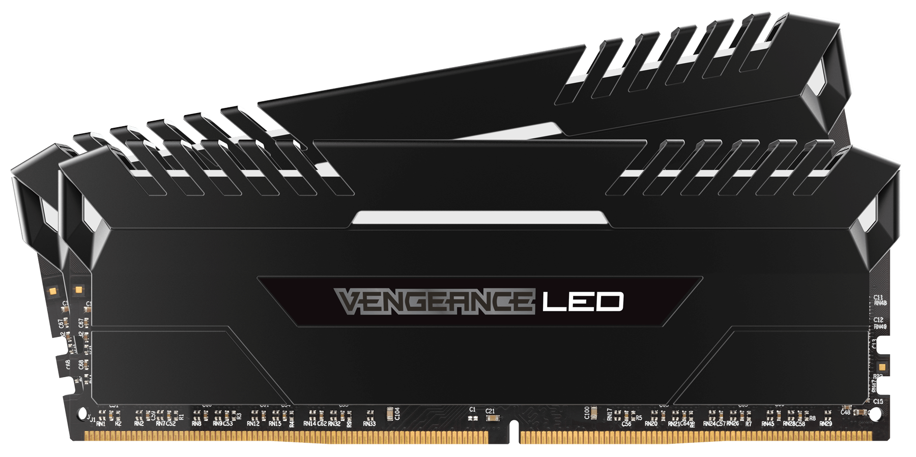 Memorie Desktop Corsair Vengeance LED 16GB (2 x 8GB) DDR4 3200MHz White
