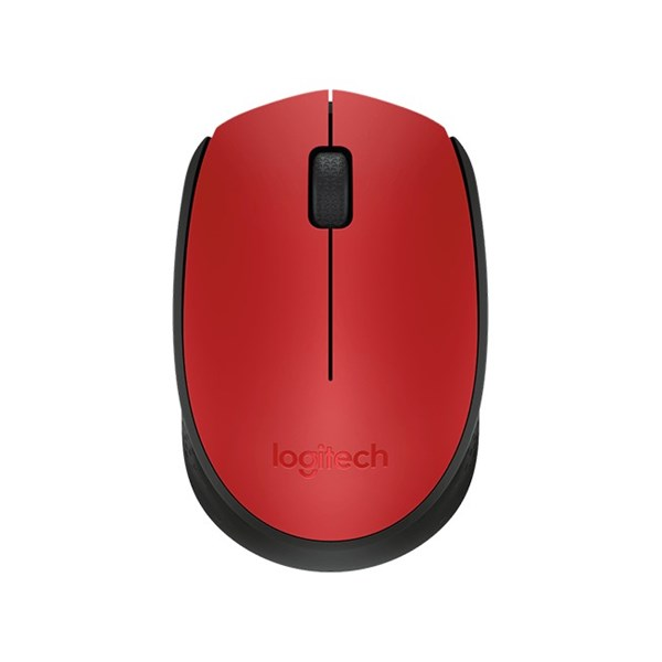 Mouse Logitech M171 Wireless Red